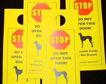 Keep Azawakh safe with Friendly Door Alerts