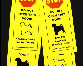 Keep Your Lowchen Safe with the Friendly Alternative to Beware of Dog