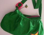 Kelly Watch The Stars - Pleated Green Hobo Bag