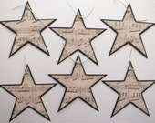 RESERVED LISTING for MARIADORNELLAS - Musical Stars - Set of 24