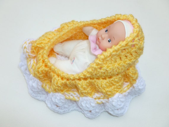 Cradle purse with doll SALE