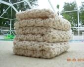 SALE-Set of 3 Crochet Dishcloths