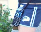 Water Bottle Carrier-Crochet-Hiker Biker Jogger Runner