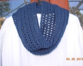 CLEARANCE TODAY Infinity Eternity Cowl Scarf-Windsor Blue