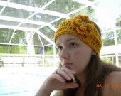 Sale Today-Headband /Earwarmer/Wrap With Flower