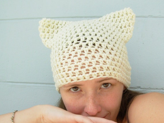 Purrfect Kitty Cat Eared Hat