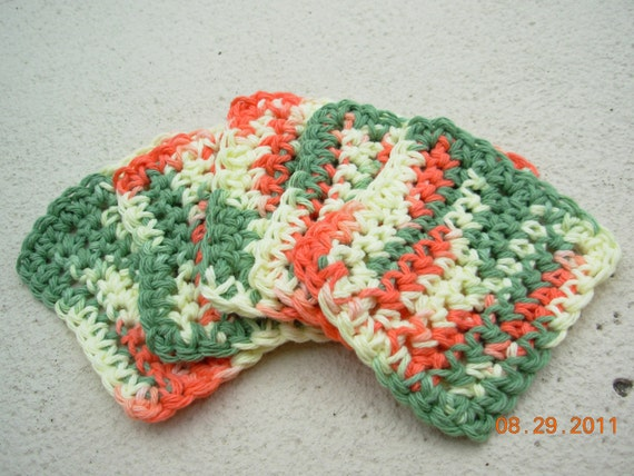 CLEARANCE-Face Scrubbies Set of 5