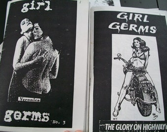girl germs zines
