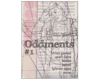 Oddments PDF zine - gaming, cooking, crafts, books