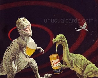 Drinking with the Dinosaurs - Large Print Edition