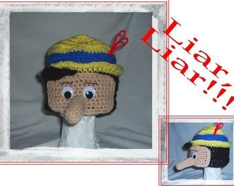 Boutique Crochet LIAR Hat CUSTOM