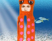 Otto - the Hipster Cephalopod Hat