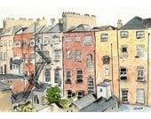 Chimneys in Dublin - 5 x 7