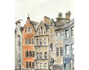 Victoria Street, Edinburgh - 6 x 8
