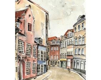 Riga in February - 5 x 7