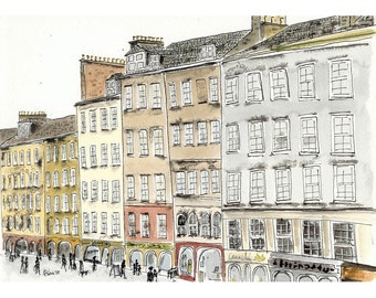 The Royal Mile - 4 x 6