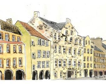 Edinburgh Arches - 5 x 7