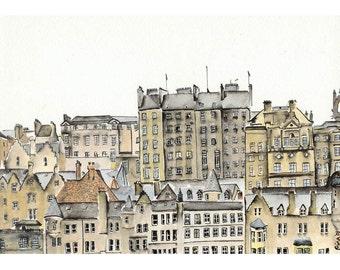 Edinburgh Windows - 5 x 7