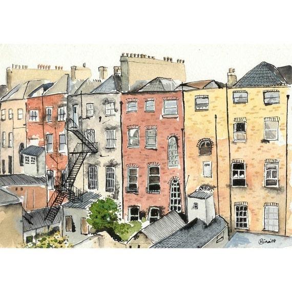 Chimneys in Dublin - 4 x 6