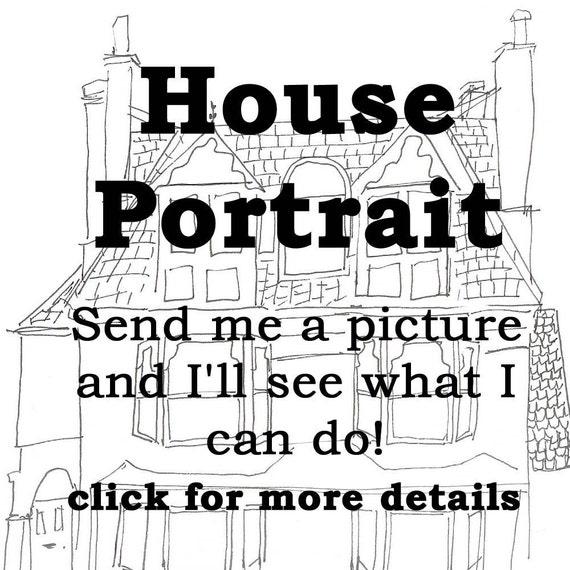 House Portrait - 8 x 11