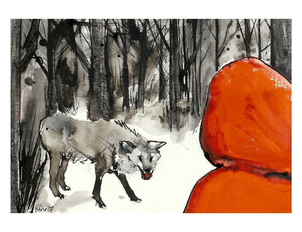 Red riding hood x wolf