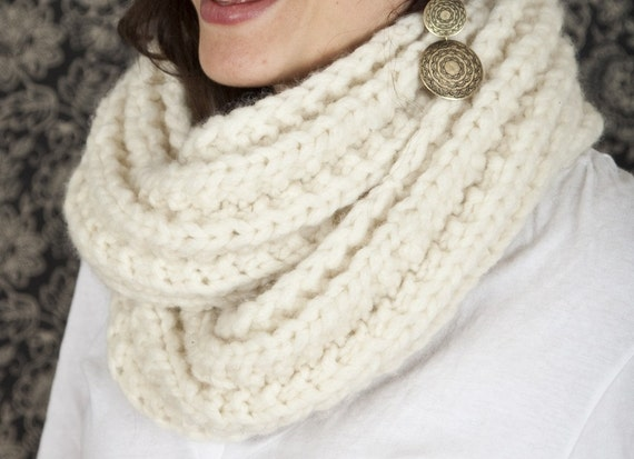 Double Happiness Infinity Scarf
