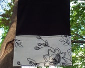 Chic Black and White Summer Tote