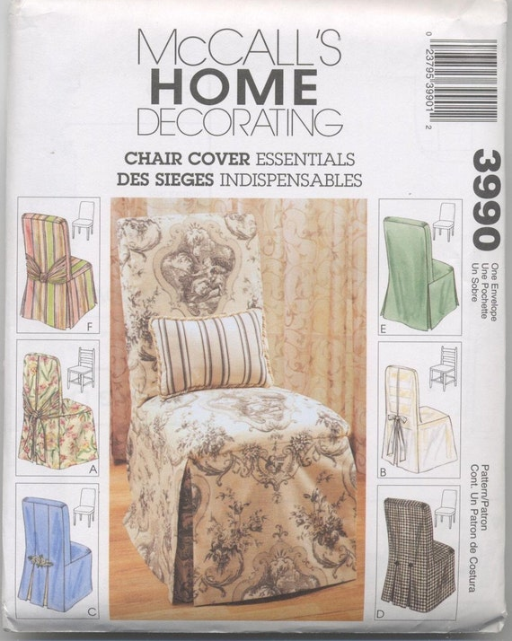 Parsons And Ladder Back Chair Covers Pattern Six Styles