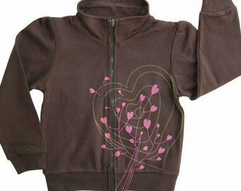 Hipster kids clothes, valentines day, Cool Kids, Long Sleeve, Toddler girls clothes, Girls Jacket, Hearts, Jacket, hipster long sleeve kids