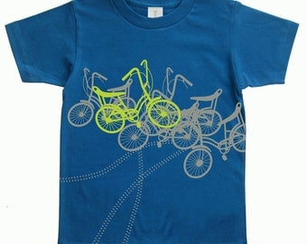 Hipster shirt, Back to school, hipster fashion, Gifts for toddler boy, Bicycles, Boy Clothes, Toddler Organic Tee, Kids Tshirt