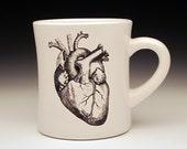 anatomical heart large diner MUG