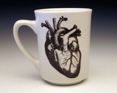 anatomical heart classic mug