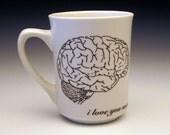 zombies love brains Classic Mug