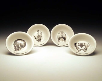 BONE APPETIT dipping bowl Set of 4