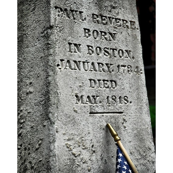 a father of freedom - Paul Revere -  From the award winning photographer