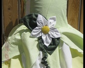 Water Lily Princess Dress Costume inspired by Tiana in Princess and the Frog