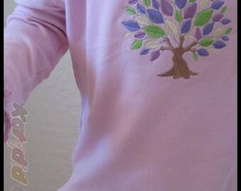 Pastel Leaves Skirt Set - Size 3