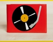 Turntable Duct Tape Wallet - by jDUCT - jDUCT