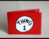 Thing 1 duct tape wallet - by jDUCT