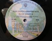 Vinyl Record Notebook - Alice Cooper