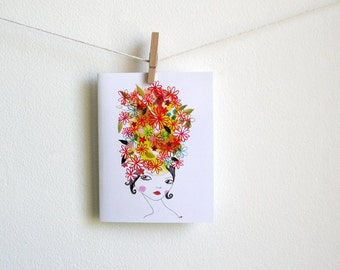 Charisse - Greeting Card - Blank Inside with Matching Envelope