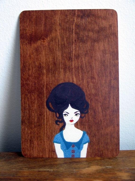 Bluebelle Postcard