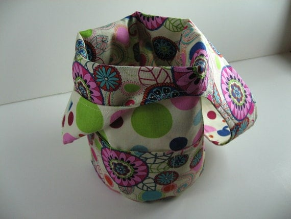 Small Reversible project tote bag