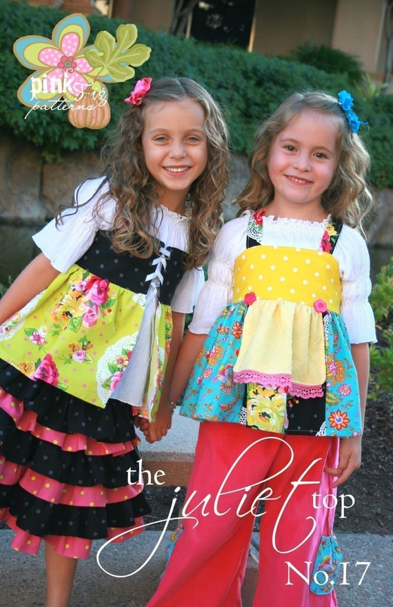 SALE - The Juliet Top sewing pattern from Pink Fig Patterns