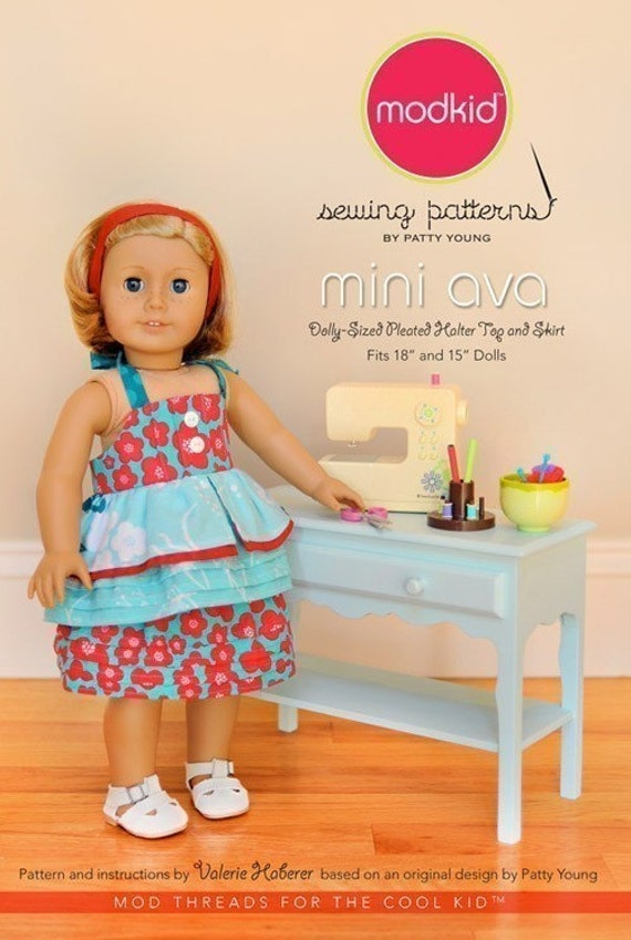 SALE - Mini Ava sewing pattern from Patty Young's ModKid Boutique