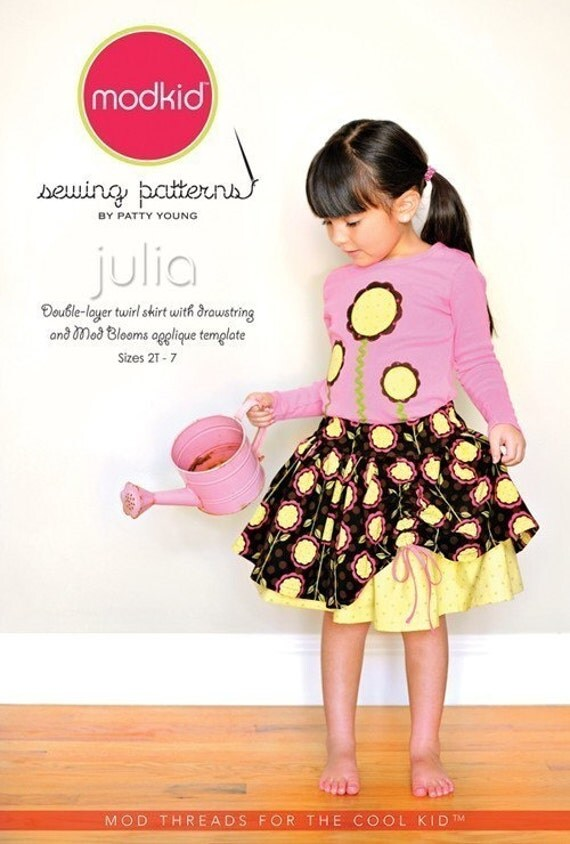 SALE- Julia sewing pattern from Modkid Boutique Patty Young