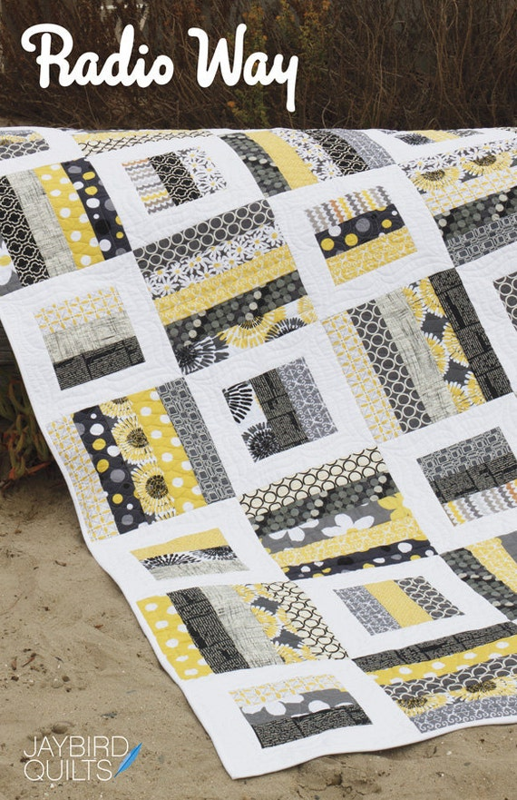 Radio Way Quilt Pattern From Jaybird Quilts Baby Lap Twin