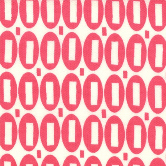 SALE - Pezzy Print - Tonal Hot Pink: sku 21605-141 cotton quilting fabric by American Jane for Moda Fabrics - 1 yard