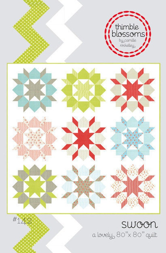 Swoon quilt pattern from Thimble Blossoms Camille Roskelley
