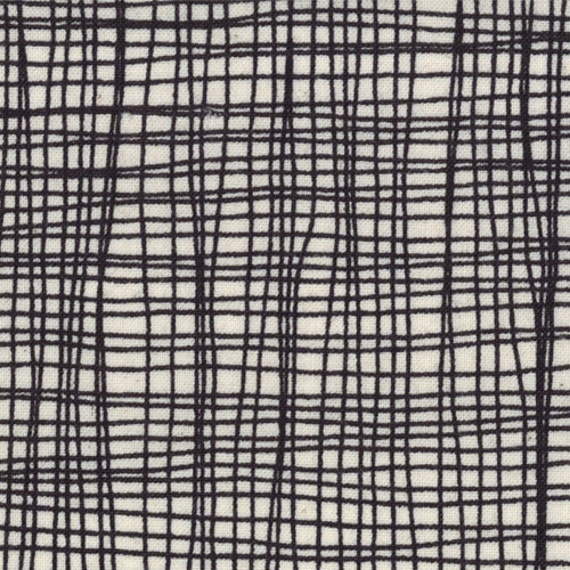 Summersville - Weave in Coal: sku 31707-11 cotton quilting fabric by Lucie Summers for Moda Fabrics - 1/2 yard